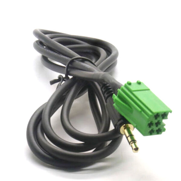 3 5mm plug aux cable adapter for renault clio kangoo twingo espace ebay. Black Bedroom Furniture Sets. Home Design Ideas