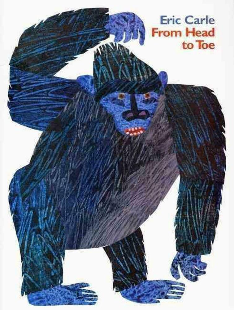 from head to toe by eric carle paperback book english 64435962 ebay. Black Bedroom Furniture Sets. Home Design Ideas