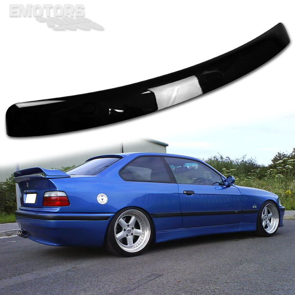 painted bmw e36 3 series 2d coupe a type roof spoiler 318is 325is m3 97 98 ebay. Black Bedroom Furniture Sets. Home Design Ideas