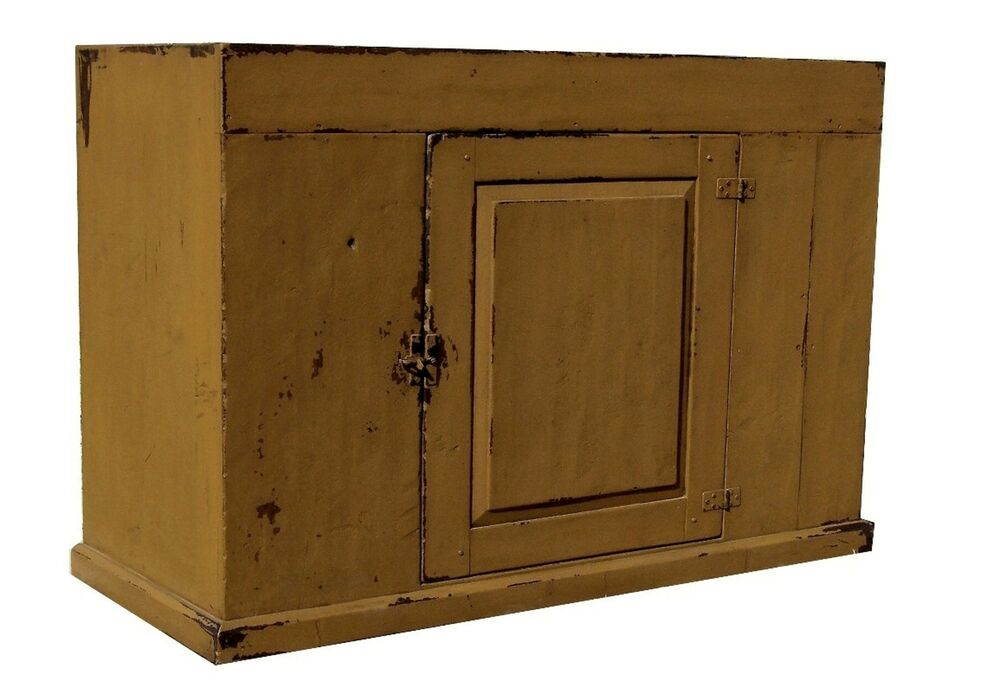 Early American Furniture Reproductions EARLY AMERICAN FARMHOUSE PAINTED COUNTRY PRIMITIVE DRY SINK RUSTIC ...
