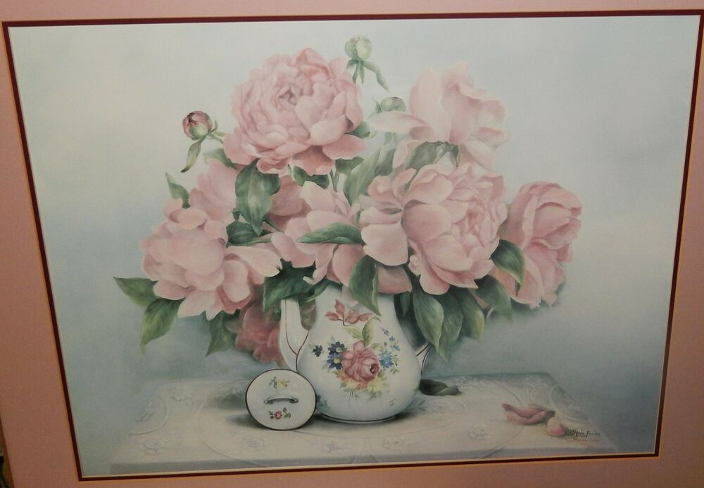 Glynda turley petals in pink limited edition signed for Glynda turley painting