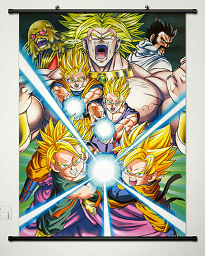 Home decor anime dragon ball son gohan wall scroll poster for Decoration murale dragon ball