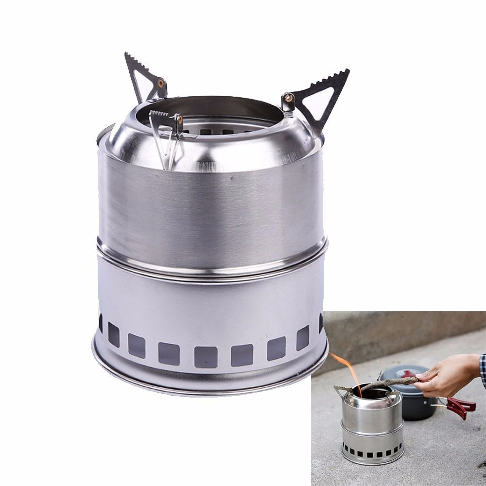 Lightweight Backpacking Stoves: Light Weight Wood Gas Backpacking Emergency Survival
