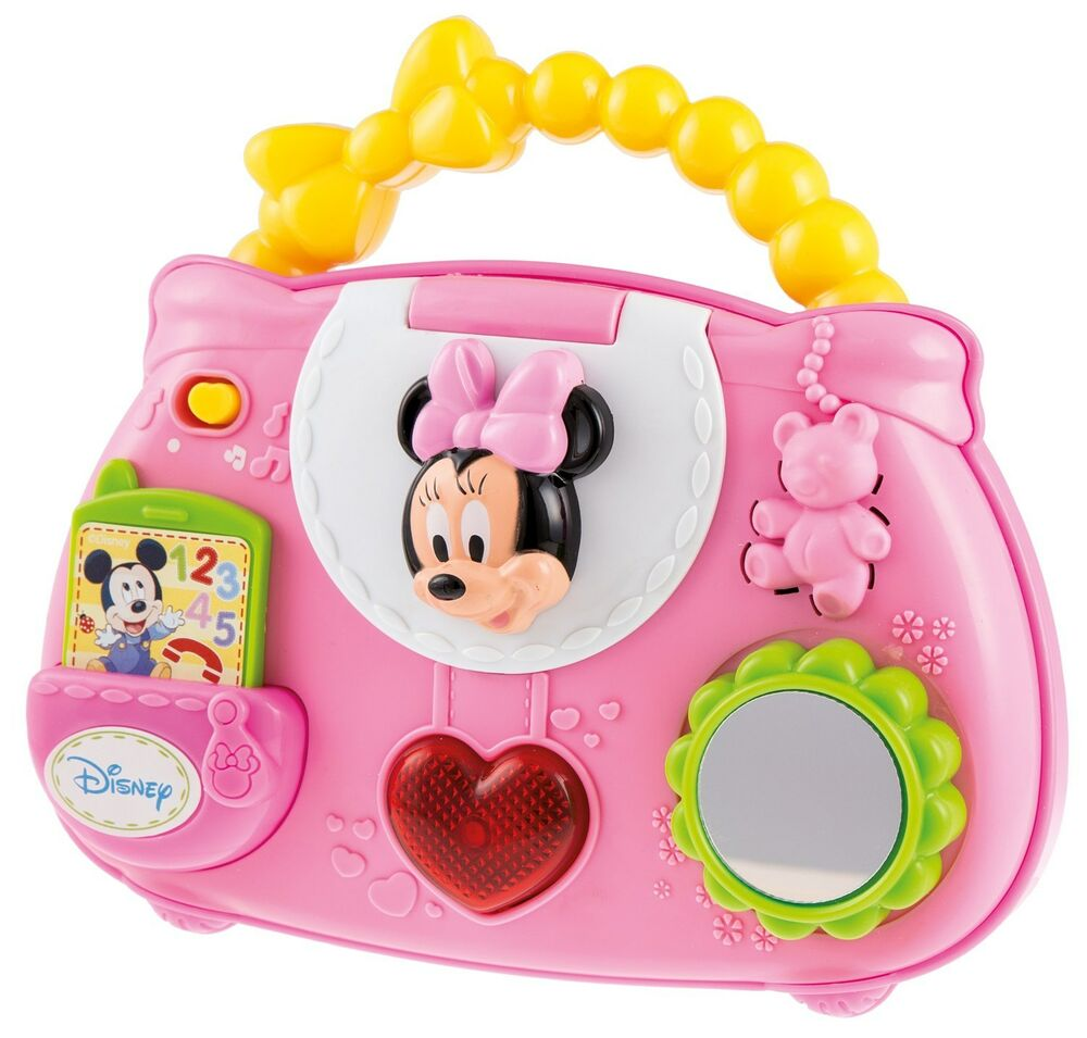 Baby Activity Toys : Disney baby minnie handbag mouse activity toy hand