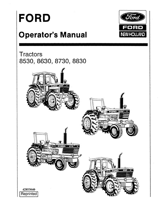 Ford 8630 Wiring Diagram. ford new holland 8730 tractor pdf workshop  service. 8n ford tractor wiring diagram 12 volt autocardesign. ford new  holland tractor 8530 8630 8730 8830 operators. ford tractor hydraulic2002-acura-tl-radio.info