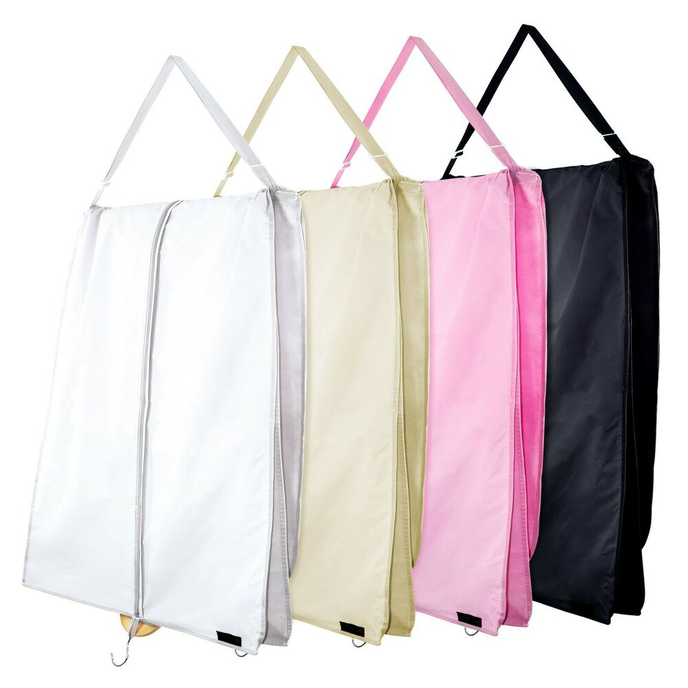 72 xl wedding prom dress cover garment bags bridal travel carrier