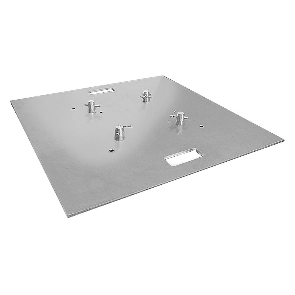 Global truss base plate 30x30a aluminum square trussing for Truss package cost