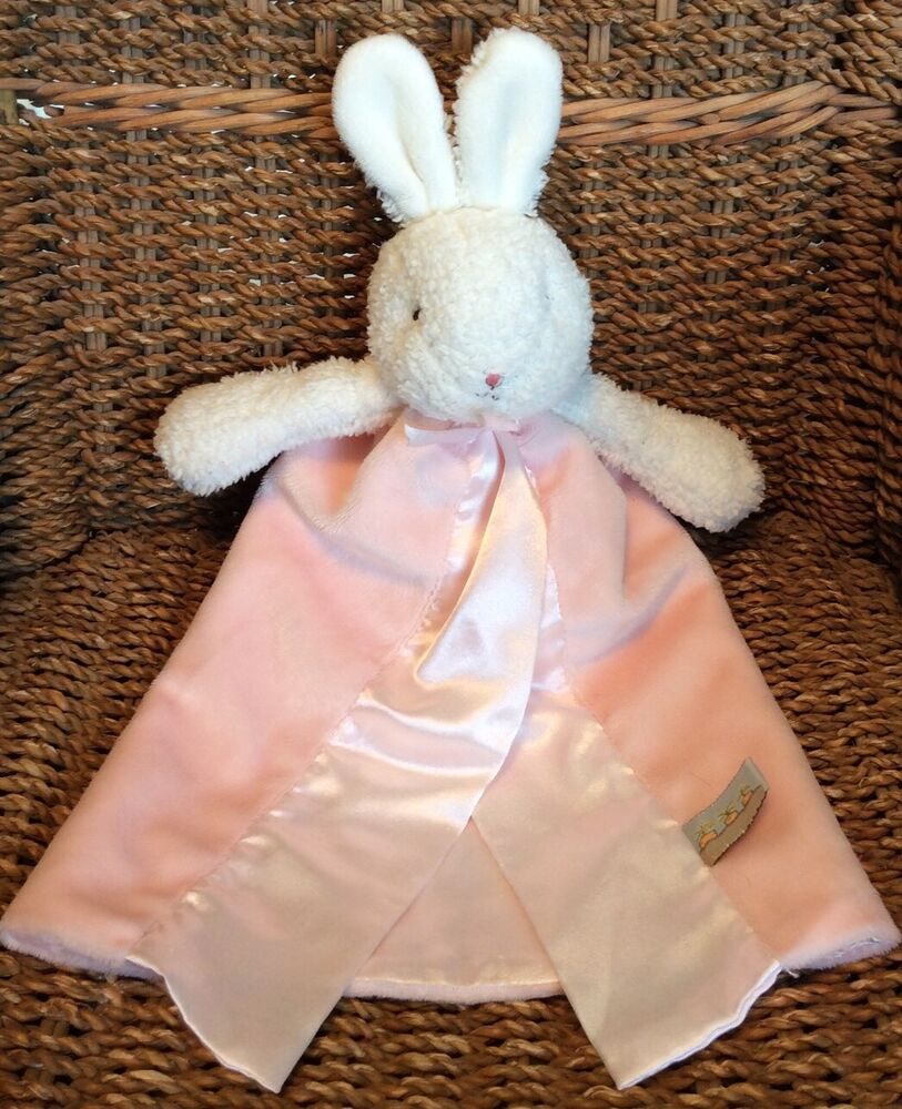 Bunnies By The Bay Plush Lovey Security Blanket Baby