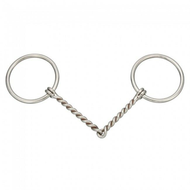 Kelly Stainless Steel 5 1 2 Quot Mouth O Ring Twisted Wire