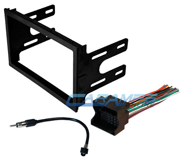 Volkswagen Wiring Harness Stereo : Vw car stereo radio kit dash installation mounting trim