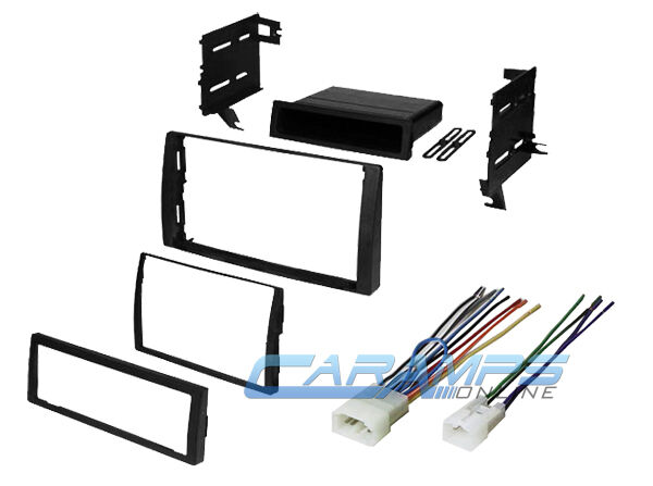2002 2006 camry car stereo radio dash installation trim kit w wiring harness ebay. Black Bedroom Furniture Sets. Home Design Ideas