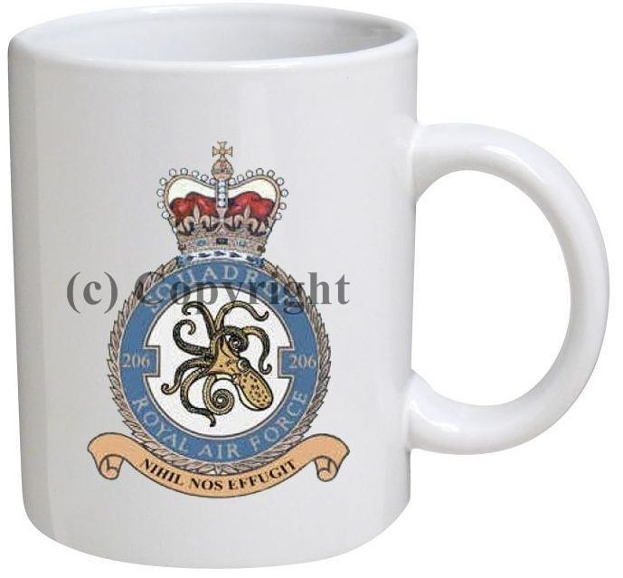 Air Force Squadron Coffee Mugs