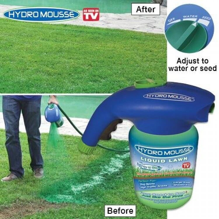 Hydro Mousse Liquid Lawn New Free Shipping Ebay
