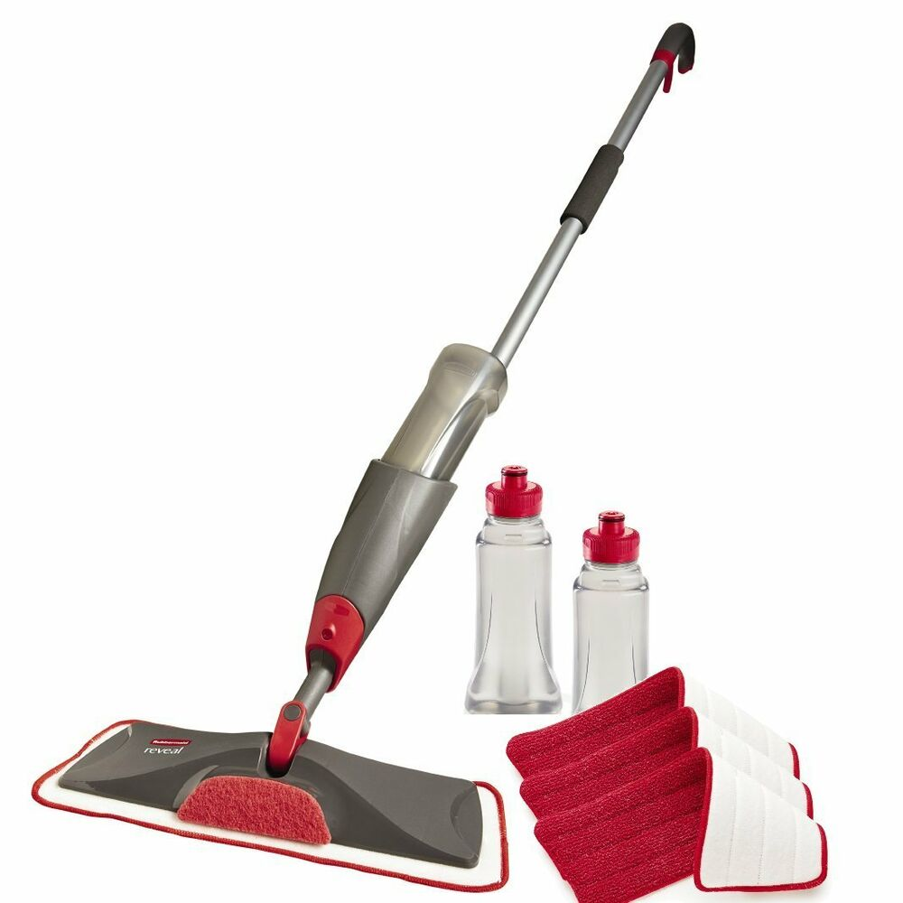 Rubbermaid Reveal Spray Mop Kit New Free Shipping Ebay