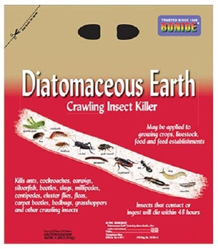4 Ea Bonide 121 5 Lb Diatomaceous Earth All Natural