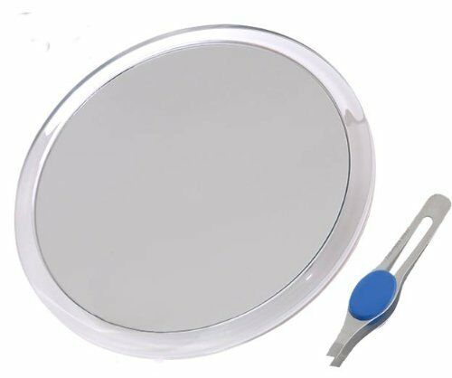 Db Tech Large 8 Quot Suction Cup 10x Magnifying Mirror With
