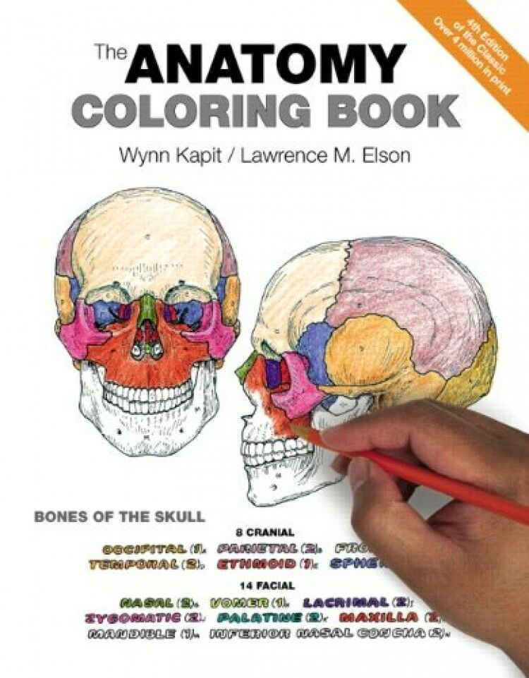 The Anatomy Coloring Book 4th Edition New Free