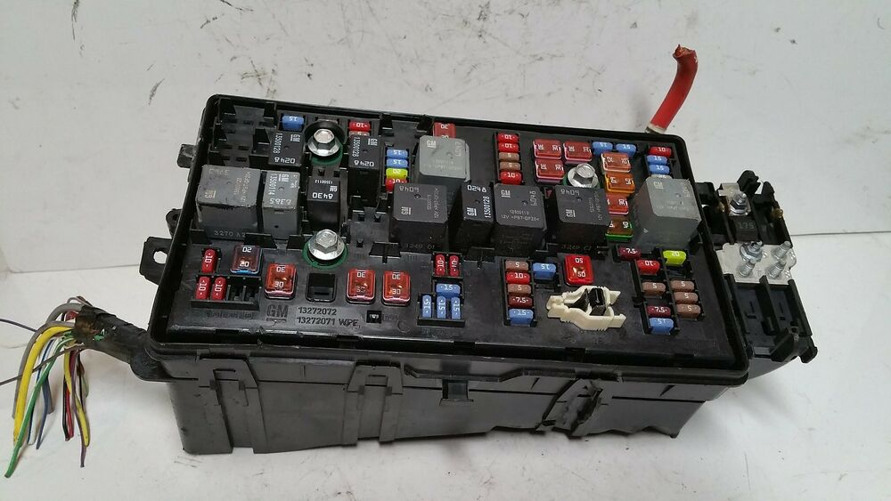2014 Buick Lacrosse 2 4l Fuse Box Block Relay Panel Used