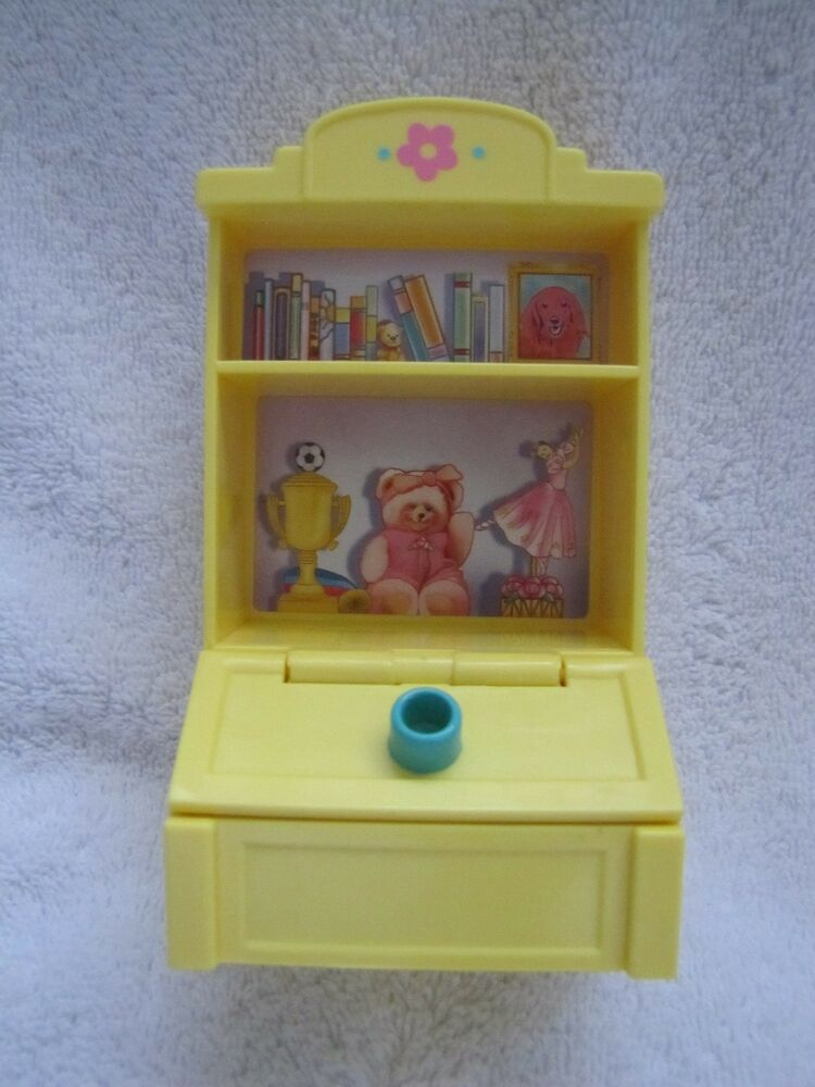 FISHER PRICE Loving Family Dollhouse TOY CABINET STORAGE SHELVES Lid Lifts | eBay