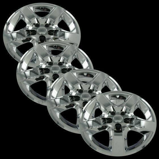 Craftsman Chrome Wheel Covers : Set of quot chrome spoke bolt on hub caps wheel skins