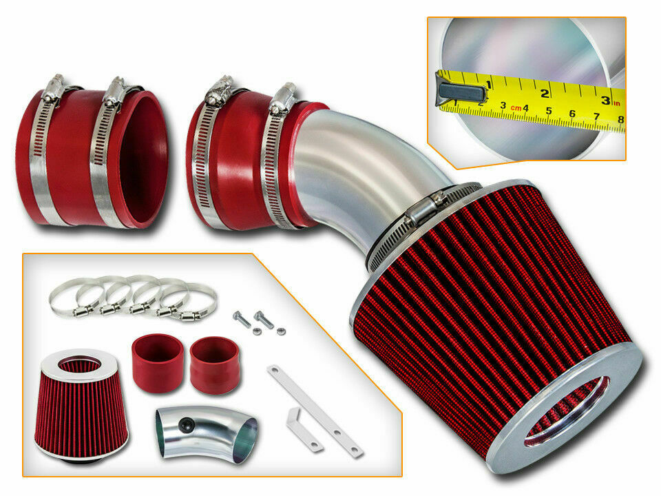 Sport Ram Air Intake System Dry Filter For 98 04 Cadillac