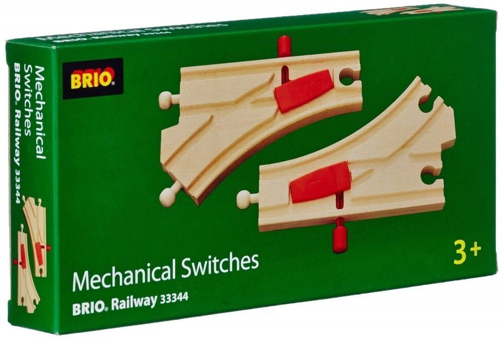 Brio Mechanical switches Track Accessory Train Wooden Railway Compat NEW 33344 | eBay