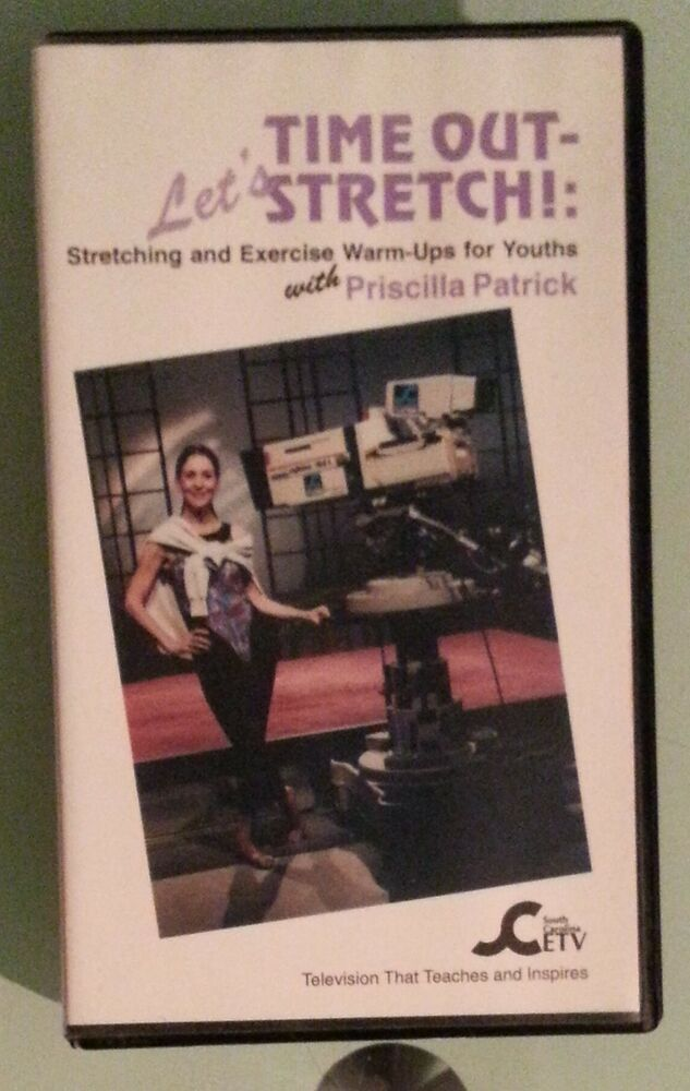 Sell Vhs Tapes >> priscilla patrick TIME OUT LETS STRETCH exercise warm ups ...