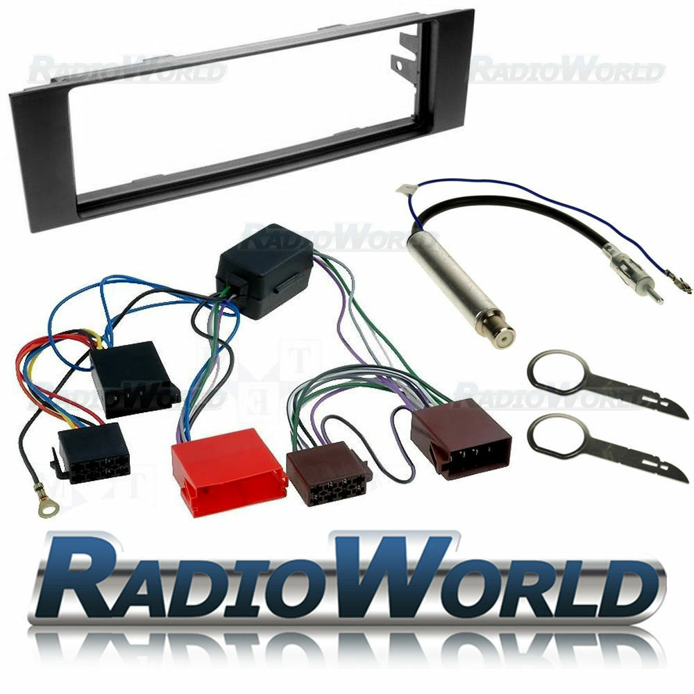 Audi A3 Car Stereo Radio Fitting Kit Fascia Iso Wiring Aerial Full Bose Cd Harness Ebay Adaptor Plate Trim