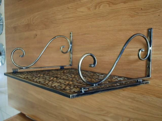 Iron Wall Mount Microwave Shelf Stand Rack 002 Ebay