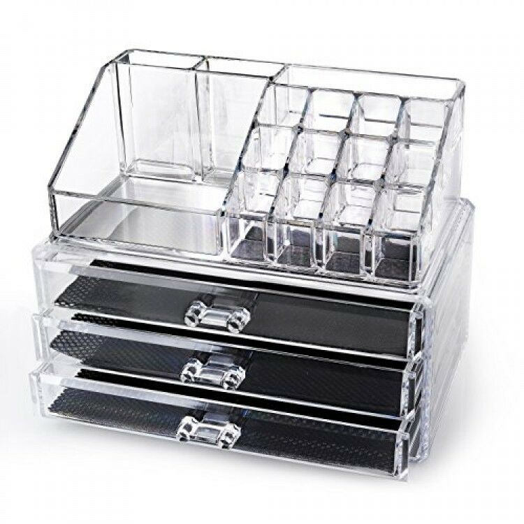 Home It Clear Acrylic Makeup Organizer Cosmetic Organizer