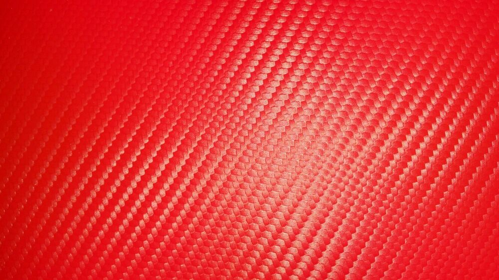 stop light red carbon fiber vinyl upholstery fabric automotive marine in stock ebay. Black Bedroom Furniture Sets. Home Design Ideas