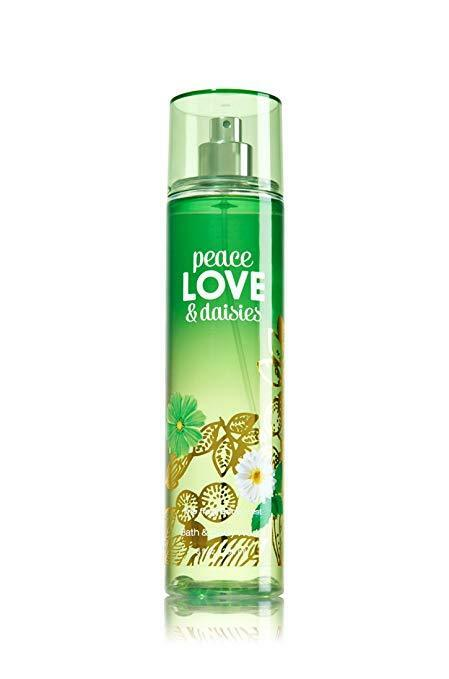 bath and body works peace love amp daisies body mist 8 fl oz