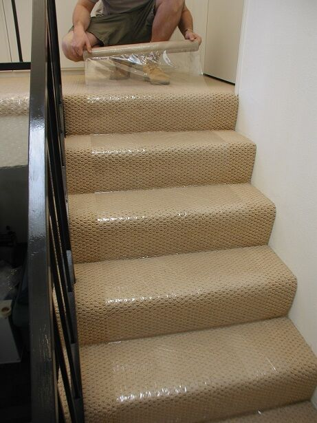 New Ultratape Clear Carpet Protector Film Wood Floor