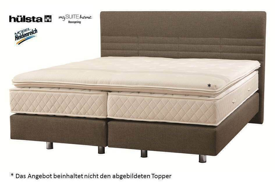 h lsta boxspringbett 180 x 200 cm my suite home comfort boxspring bett neu ebay. Black Bedroom Furniture Sets. Home Design Ideas