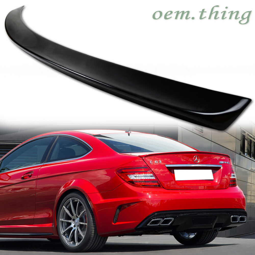 painted mercedes benz c204 trunk spoiler a type 2d coupe. Black Bedroom Furniture Sets. Home Design Ideas