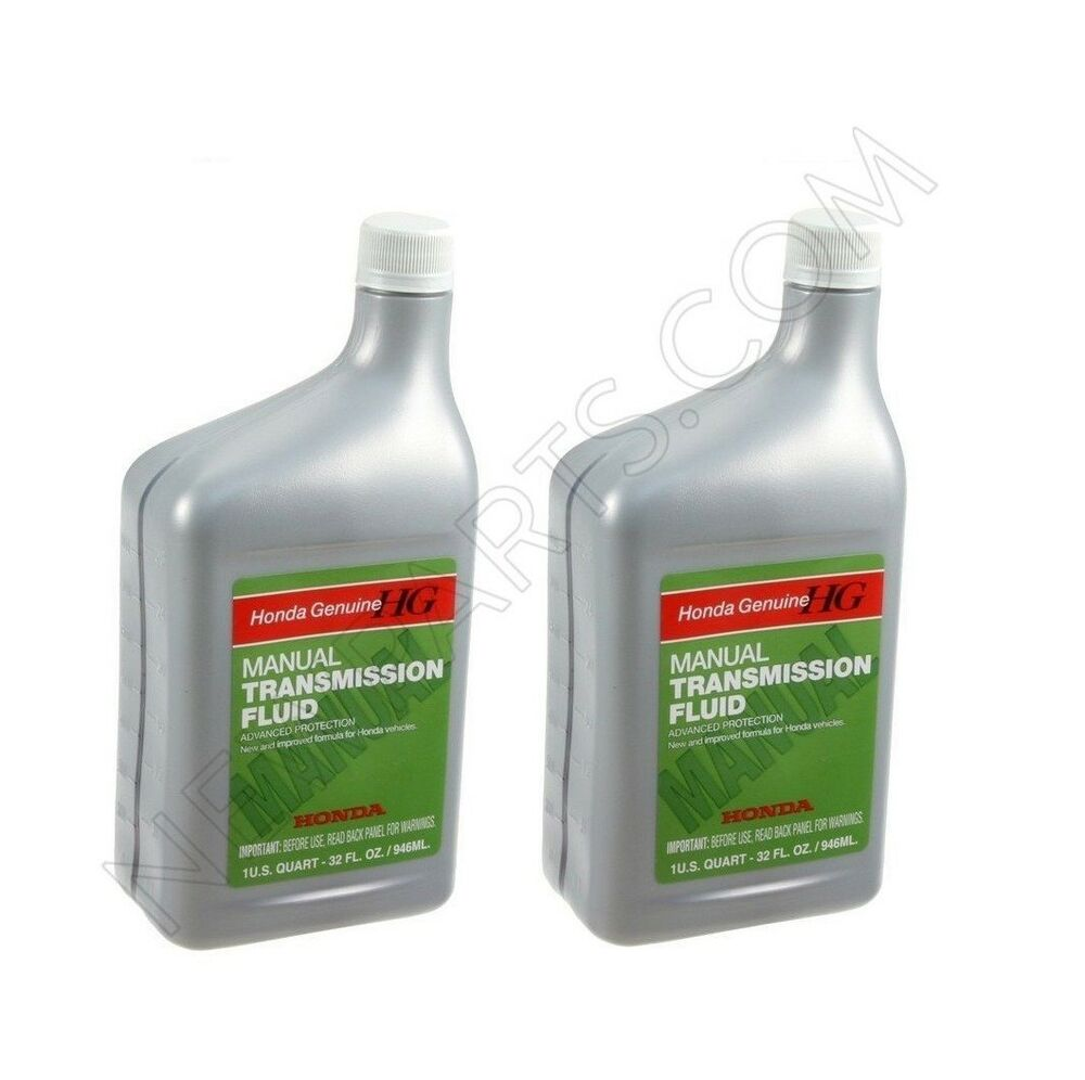 For Honda Pack of 2-Quarts Manual Transmission Fluid Genuine 08798-9031  786102101028 | eBay