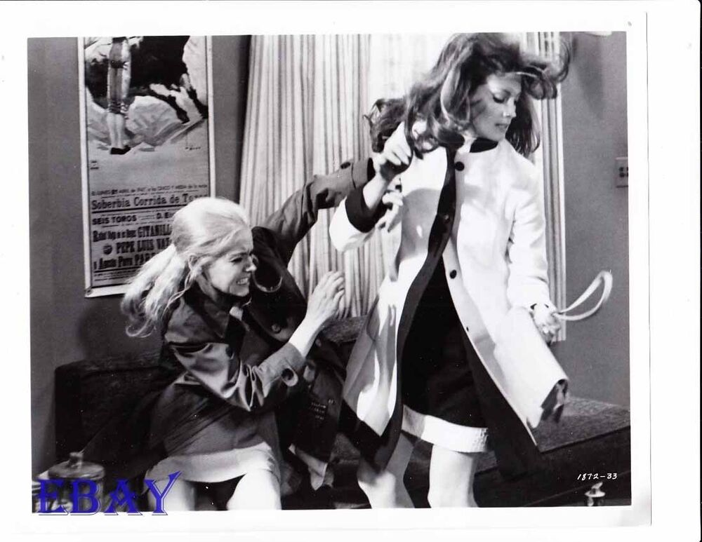 sharon farrell fights gayle hunnicutt vintage photo