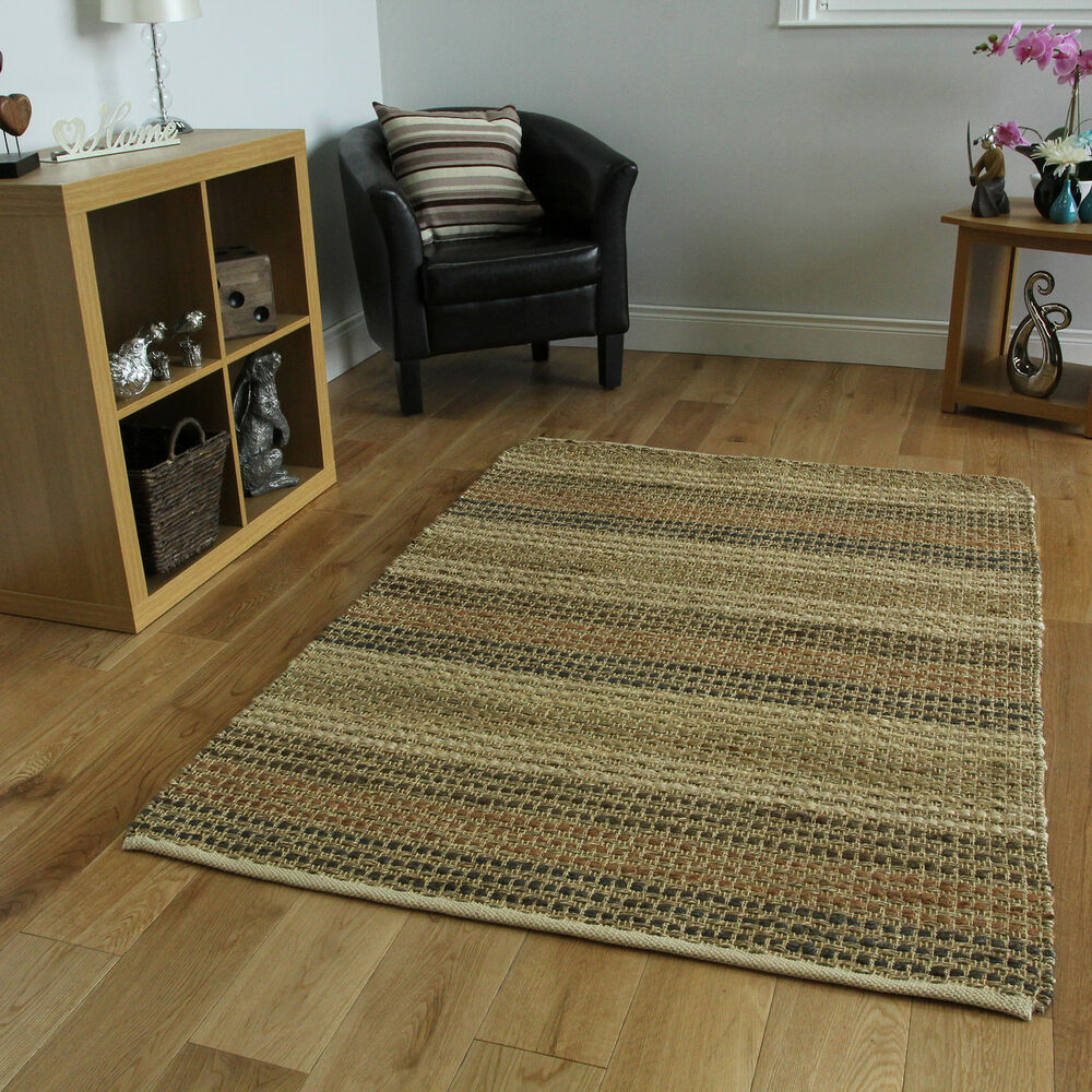 Durable Hard Wearing Natural Seagrass Rugs Stain Resistant