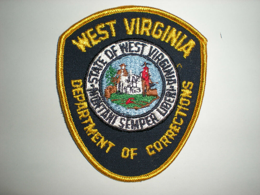 WEST VIRGINIA DEPARTMENT OF CORRECTIONS PATCH | eBay