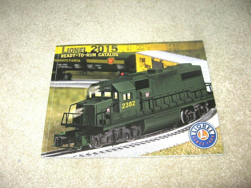 Lionel Trains Catalog : Lionel trains ready to run catalog mint ebay