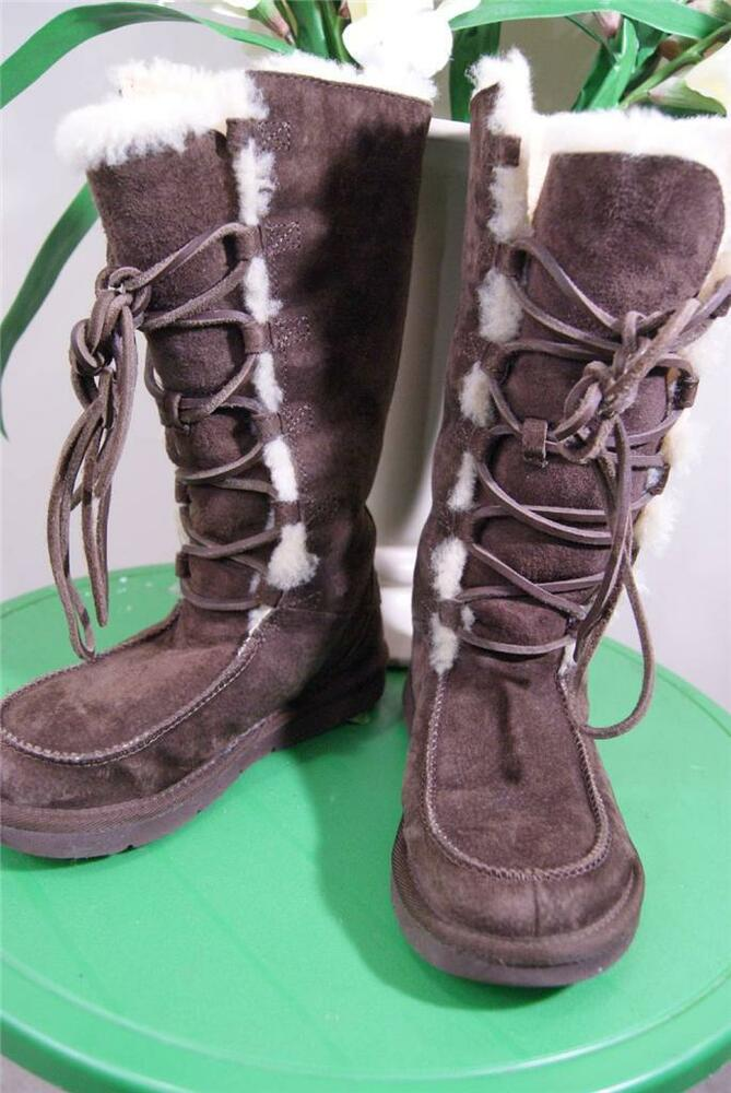 ugg womens 5190 uptown brown boots size 5 ugg100 ebay