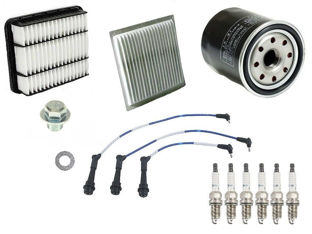 Tune Up Kit Cabin Filter Air /& Oil Filter NGK Spark Plugs /& Bosch Wire Set
