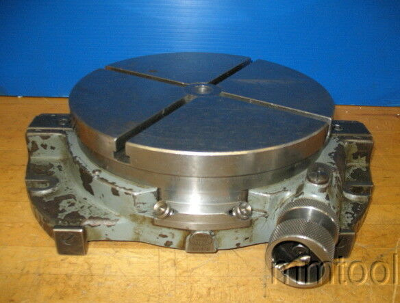 Jig Bore Rotary Table : Moore quot rotary table jig borer milling machine nice