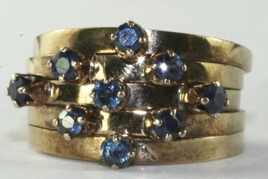 Sapphire Stackable Band Ring