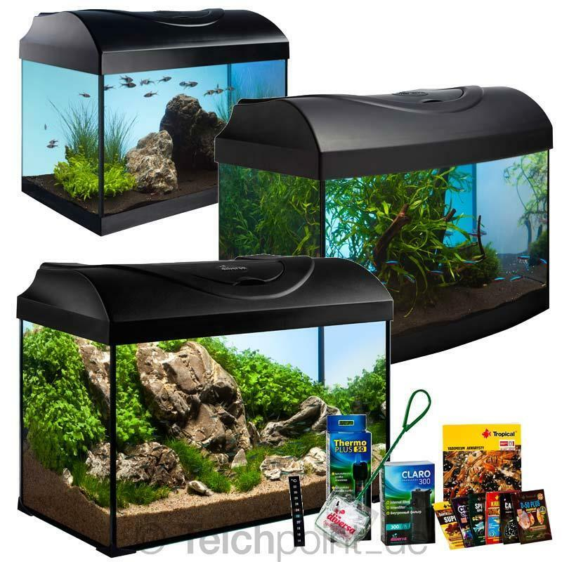 komplett aquarium diversa startup set einsteiger serie. Black Bedroom Furniture Sets. Home Design Ideas