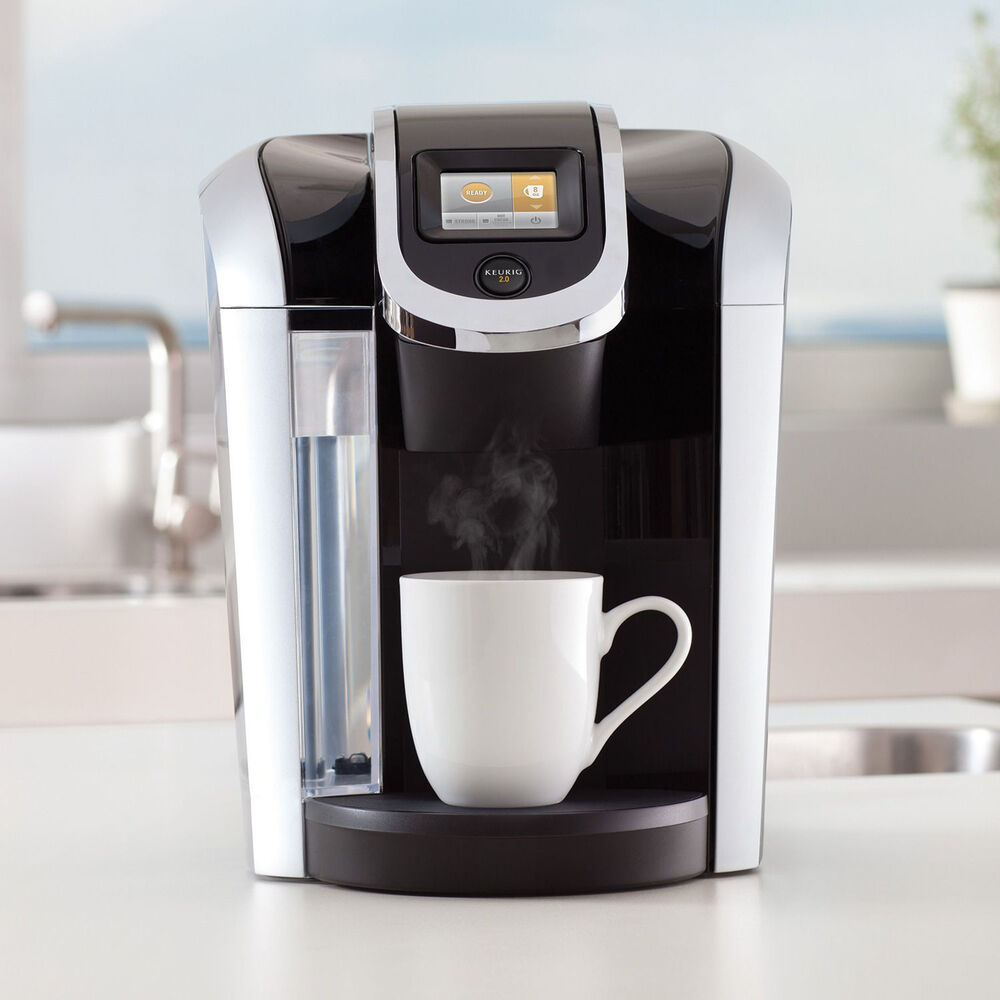 Best Coffee Maker Using K Cups : KEURIG 2.0 K 460 K-CUP COFFEE MAKER top model PLUS CARAFE & 24 K CUPS & extras eBay