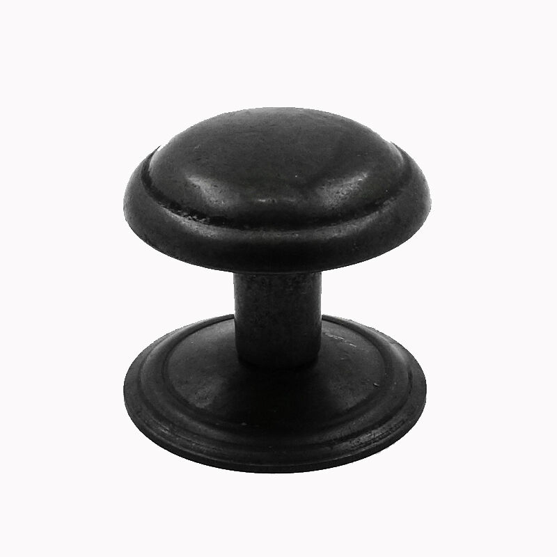 Rustic Pewter Finish Knob Handle Drawer Pull Kitchen