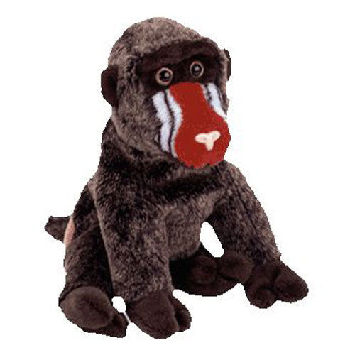 Details about TY Beanie Baby - CHEEKS the Baboon (6 inch) - MWMT s Stuffed  Animal Toy 9178840f273