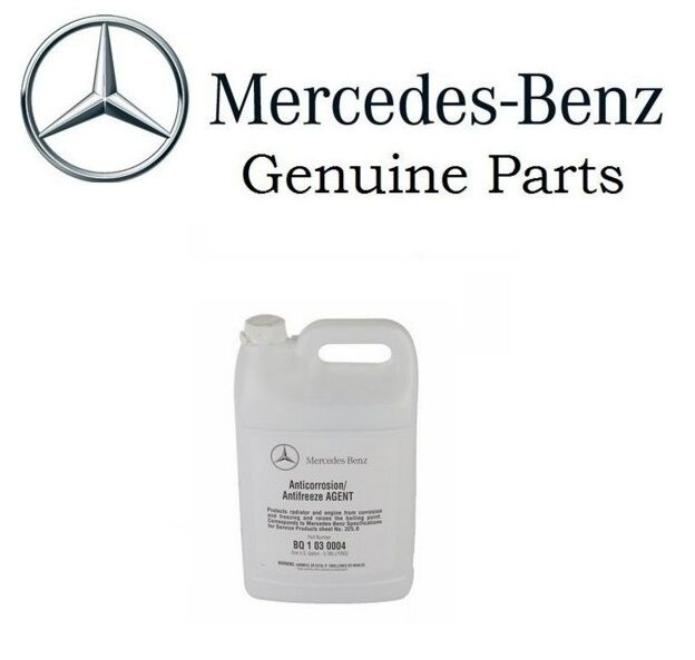 New oes mercedes benz anti freeze coolant q1030004 q 103 for Mercedes benz coolant