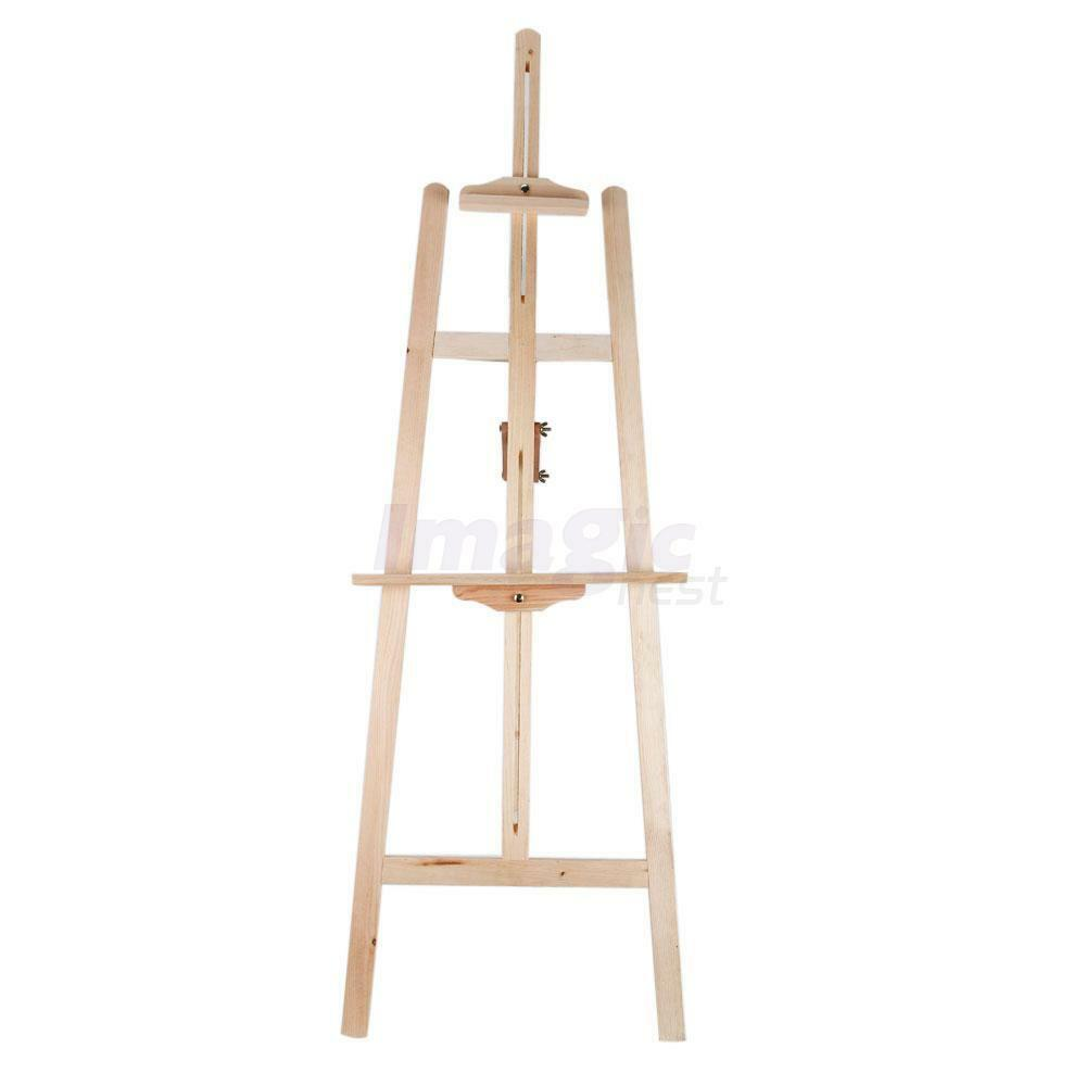 Wood wooden easel art stand for table top drawing sketching painting
